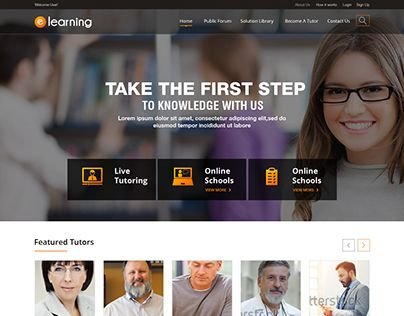 "Check out new work on my @Behance portfolio: ""Elearining"" http://be.net/gallery/37026407/Elearining"