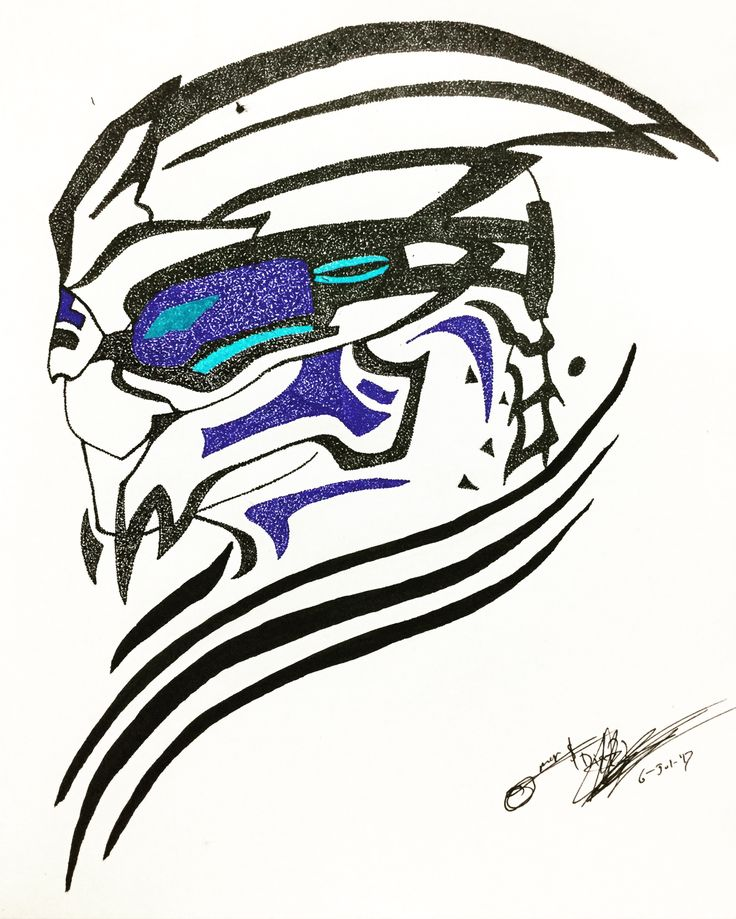 """It's so much easier to see the world in black and white. Gray? I don't know what to do with gray..."" - Garrus. Been working in this draw with a new 0.3 pen, hope you like it. -------------------------- #Sketch #Ink #Garrus #EvilInk #Points #Dots #Pointillism #Sketch #Draw #ArtSpotlight #Tribal #Blue #Black #Grey #Art #Sketching #Drawing #Pen #Brushpen #MassEffect #GarrusVakarian #Mass #Effect #VG #VideoGame #Portrait #Xbox360 #FanArt"