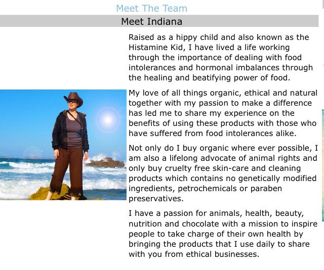 Meet the Team! Earth's Pantry introduces Indiana Holley