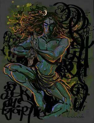 Shiva's Blessing XVIII Creating