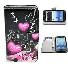 Card Holder PU Leather Wallet Cover Case Stand For Samsung Galaxy S3 III i9300