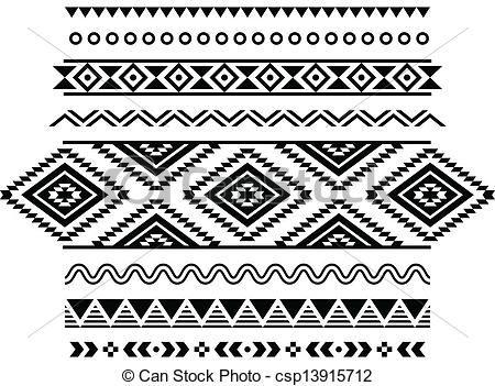 Mejores 10 imágenes de Azteca Tribal en Pinterest   Estampados ...