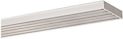 Flächenvorhangschiene, Indeko, nach Maß, Aluminium, 5-läufig auf Rechnung   BAUR