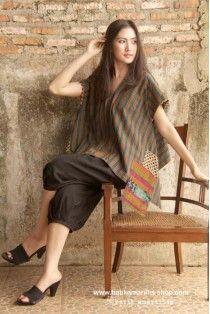 batik amarillis's kiku blouse