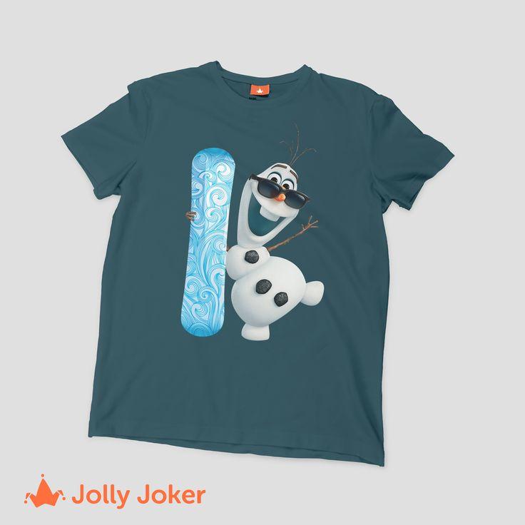 Crea y diseña tu camiseta como quieras, con los muñecos, caricaturas de cualquier película que te haya gustado! En Jolly Joker volvemos realidad tu camiseta personalizada!