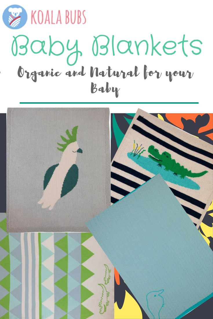 Choose from our collection of our Organic Baby Blankets. Head over to our website for more information!