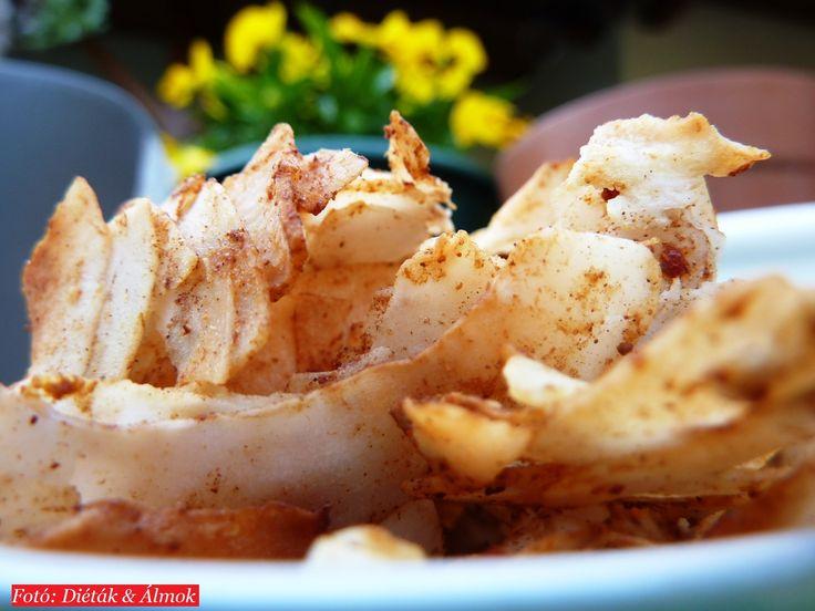 Fűszeres kókusz chips