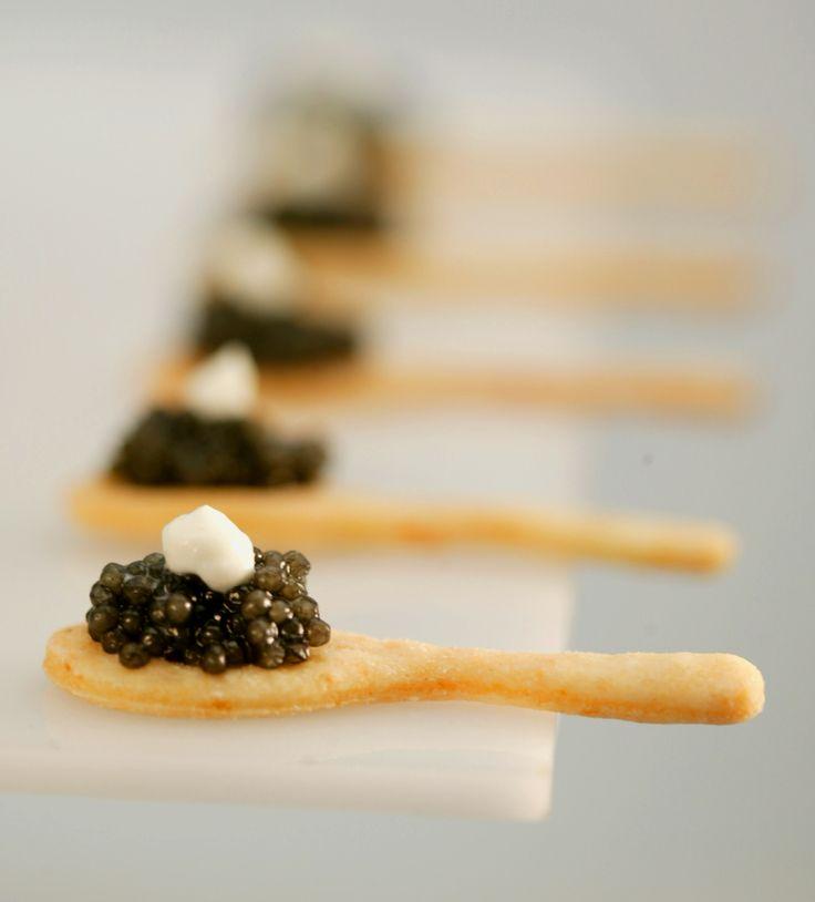 (caviar spoons) nutella instead!