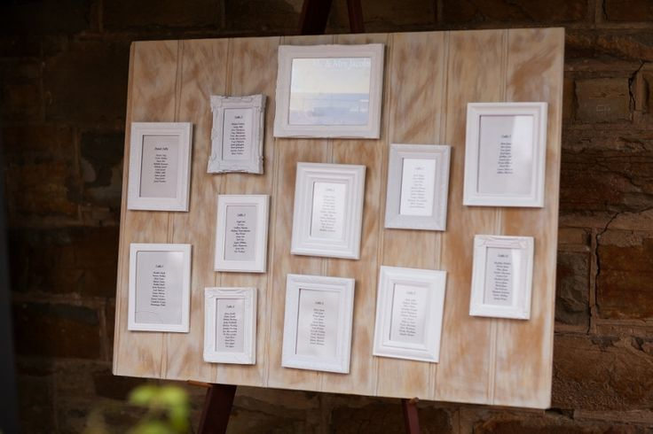 Seating Plan by Melinda and Todd @ Chateau Dore Winery