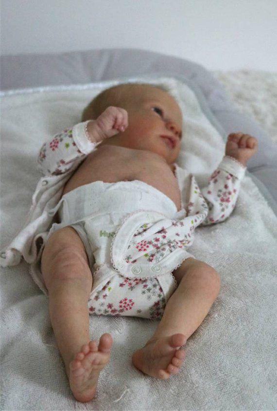 Realborn Ashley Awake 17 Inches Full Limbs Tummy Plate Etsy