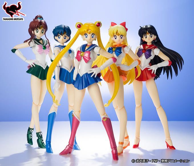 New image of the Tamashi Nation Sailor Moon figures! Not the first time we've seen Sailor Jupiter but good to know she's still coming! More info in English on these figures with shopping links here http://www.moonkitty.net/buy-bandai-tamashii-nations-sailor-moon-sh-figuruarts-figures-models.php #SailorMoon