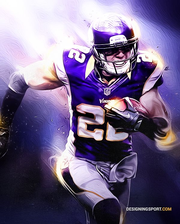 Harrison Smith, Minnesota Vikings | Sport Art | Designing Sport