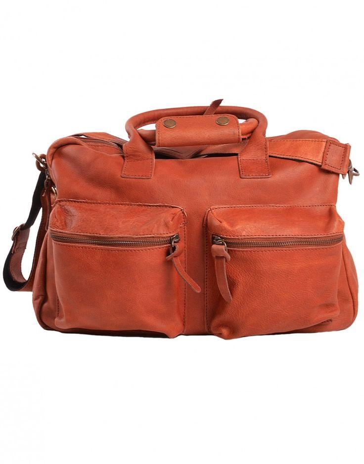 #camel #bag #leather #cognac #fashion #menswear #homme #sac