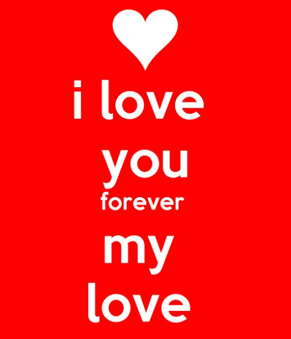 I Love You Forever My Love CHAIMAA