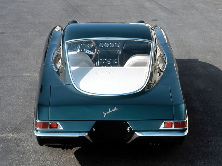 Lamborghini 350 GTV (1963) ~ this is a VERY cool looking vehicle!