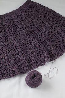 ptasha_crochet: Skirt tweed by ptasha. Схема