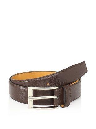 80% OFF Leone Braconi Men's Minipaglia Belt (Brown)