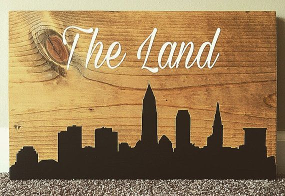This 18 x 12 sports decor sign was made for a Cleveland Browns fanatic. It can come with any city skyline and your choi e of wording at the top. It makes for the perfect fathers day/birthday gift or any other special occasion. It is meticulously hand painted on one inch thick stained wood. Please allow 3-5 business days for your sign to be made. If needed by a certain date, please notify me and I will try my best to accommodate. A 10.00 rush charge may be issued. When purchasing, please…