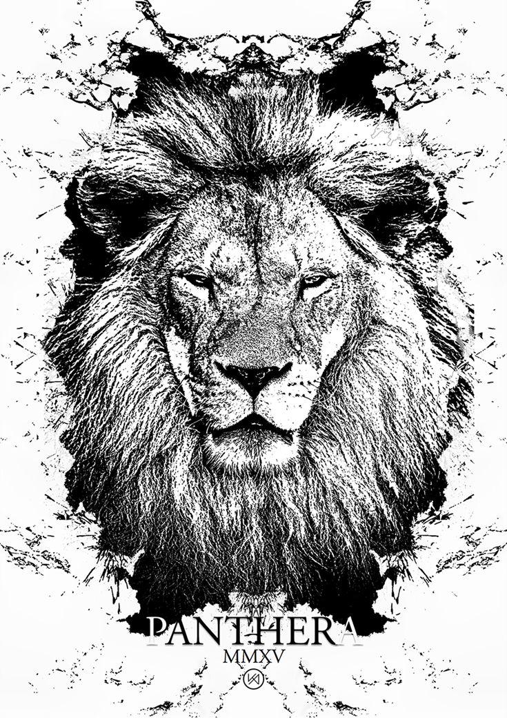 Billede af Løve plakat - Saturnus Lughaidh