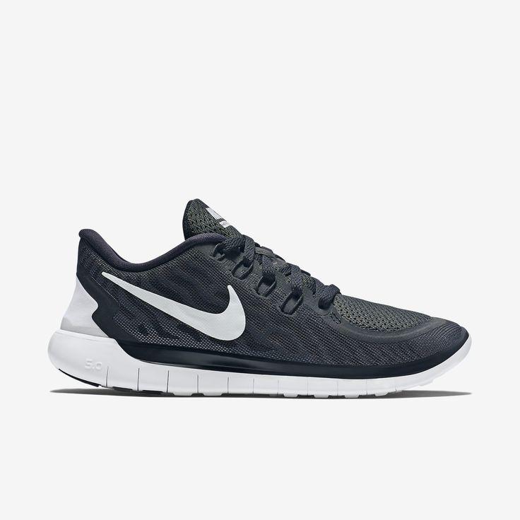 Nike Free Mens 5.0+ Chaussures De Course - Gris Tourterelle  / Escarpins Noirs