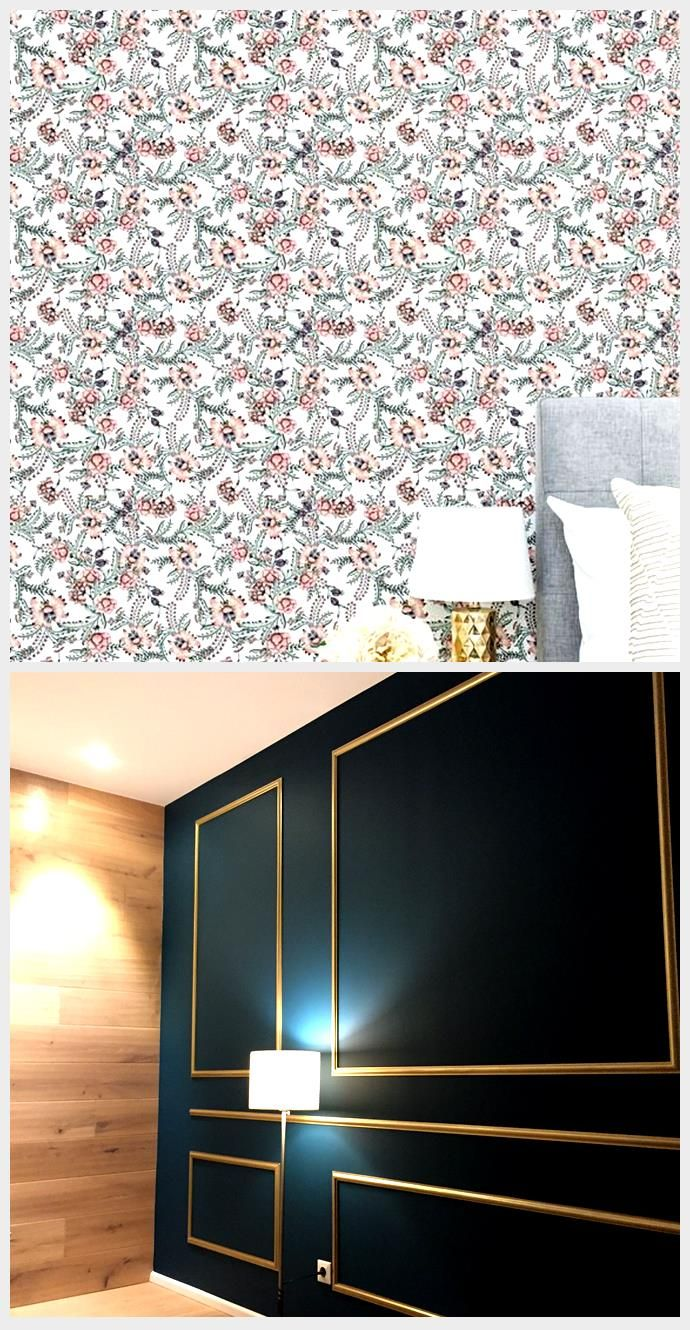 Floral Accent Wall Peel And Stick Wallpaper Removable Wallpaper Stick On Wallpaper Contact Paper For Walls 40 2020