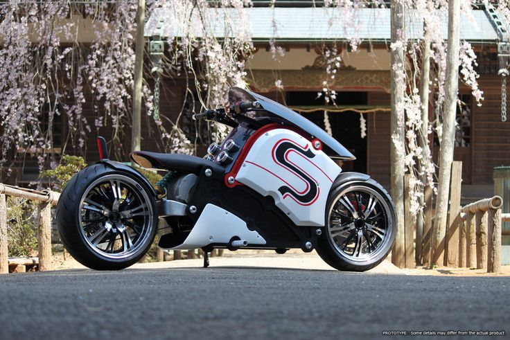 """Awesome new electric motorcycle looks like something out of """"Akira""""'s NeoTokyo"""