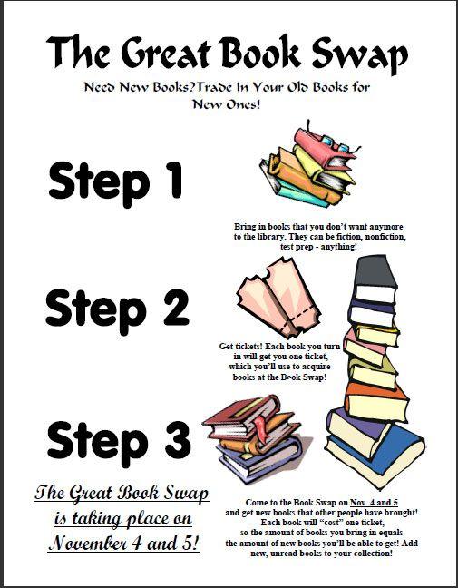 #Books#Swap# http://smsh.dadeschools.net/news/0910/newsarchive1109.htm