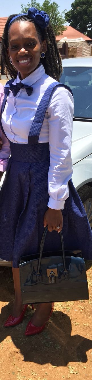 Setswana attire, Fashionable, African & Modern like that!