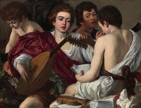 Michelangelo Caravaggio, The Musicians, 1595