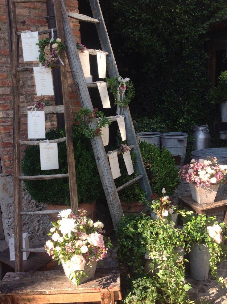 Wedding table plan | wedding planning by www.nozzeedintorni.com  #tableau mariage # countrywedding