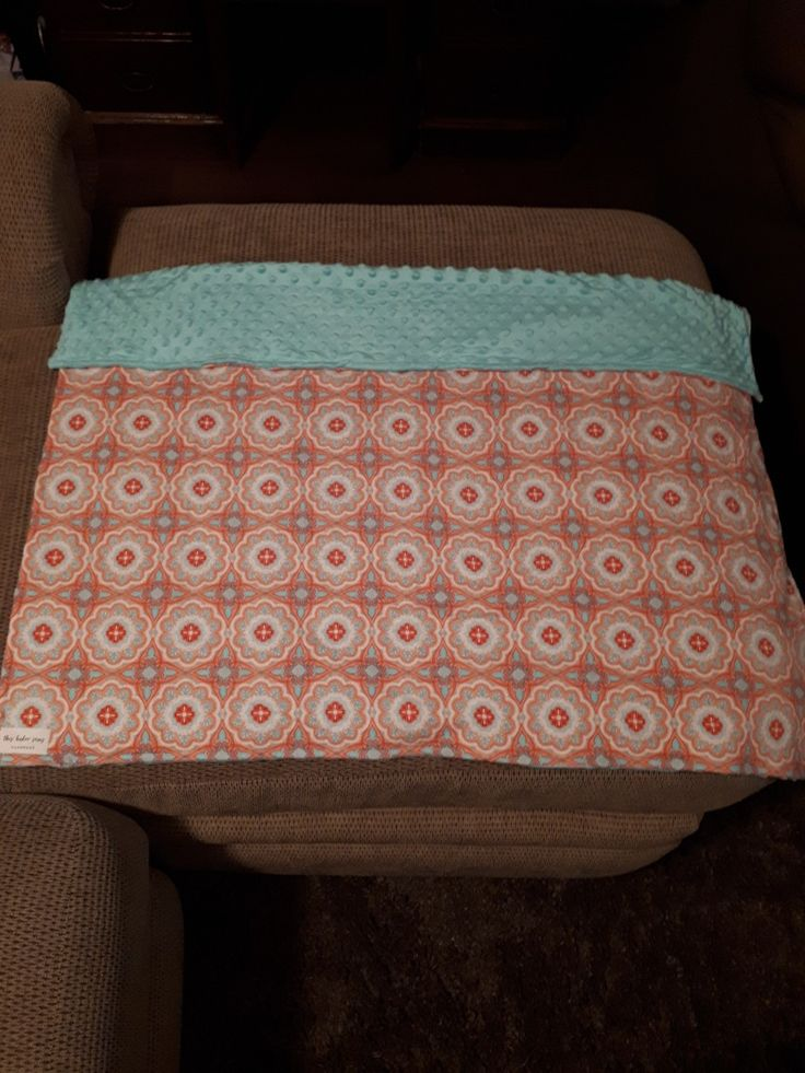 Blanket made by this baker sews for sale for $32