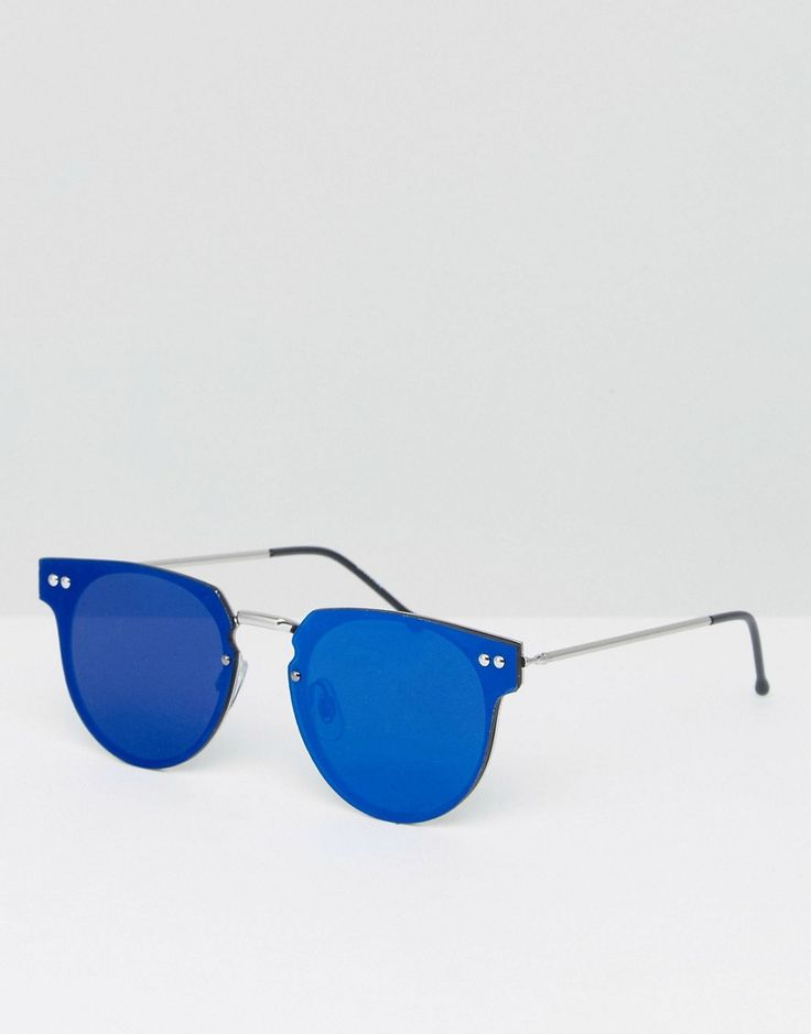 Get this Spitfire's sunglasses now! Click for more details. Worldwide shipping. Spitfire Cyber Round Sunglasses With Blue Mirror Lens - Blue: Sunglasses by Spitfire, Lightweight round frames, Moulded nose pads for added comfort, Flat blue-mirrored lenses, Slim arms with curved temple tips for a secure fit, Good UV protection. London based label Spitfire has garnered a cult following with its cutting-edge eyewear, featuring imaginative style details such as removable UV lenses and…