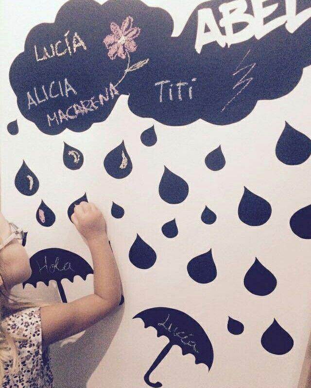 #fotografías que quedan para el #recuerdo , participando en la #decoración del dormitorio de su hermano pequeño #diseñado y elaborado por #pimpiú