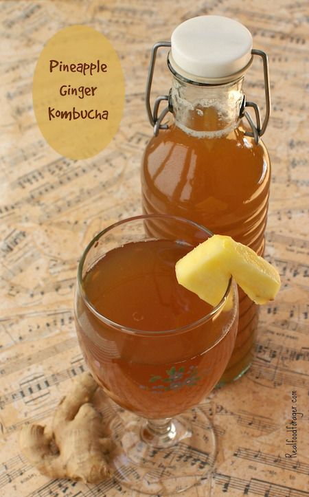 Fantastic Pineapple Ginger Kombucha Recipe Posts