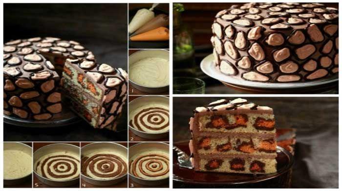БЕШАМЕЛЬ: Леопардовый торт