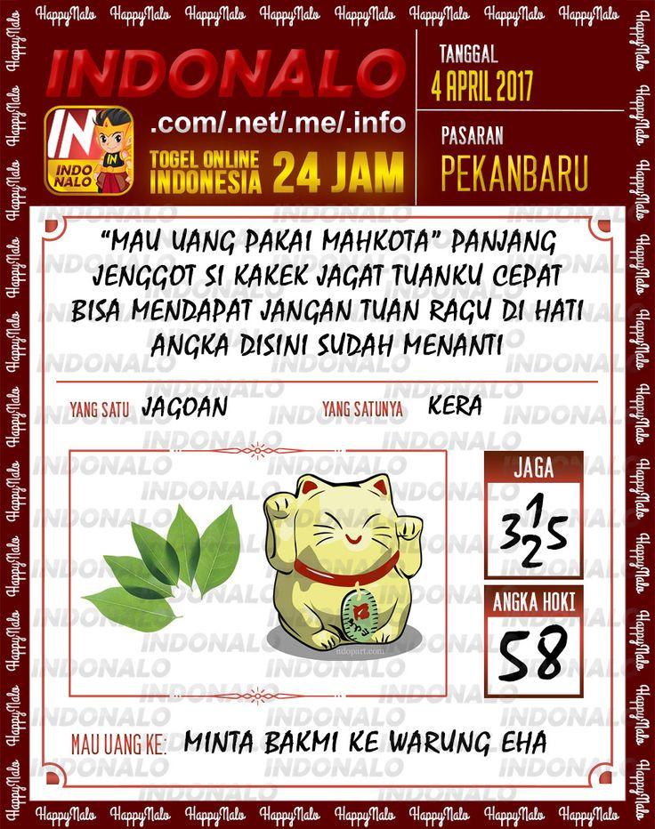 Syair 3D Togel Wap Online Indonalo Pekanbaru 4 April 2017