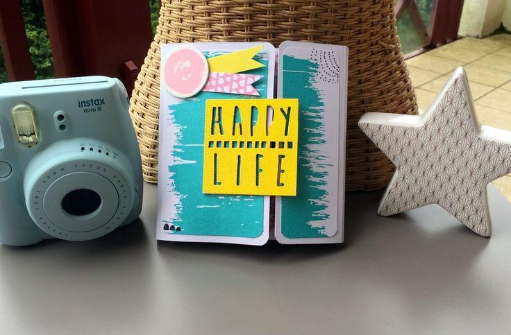 DIY - Mini Album de Vacances Happy Life - Cultura
