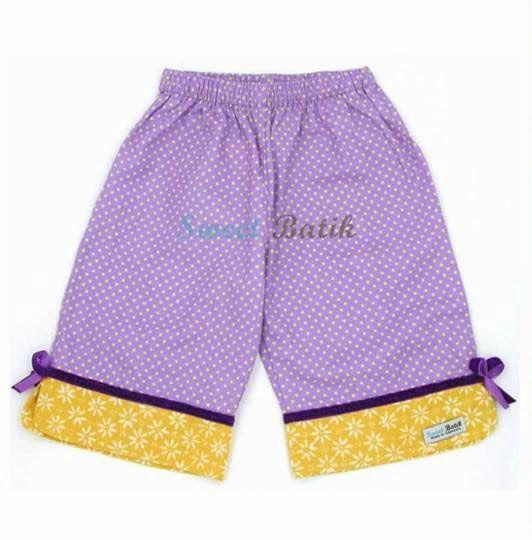 Cute little girl shorts by Sweet Batik
