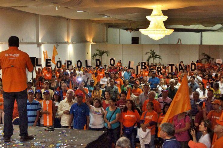 Gran Asamblea regional de Activistas de Voluntad Popular, donde estuvo presentes Roland Carreño, Roberto Marrero y Luis Florido.</p>