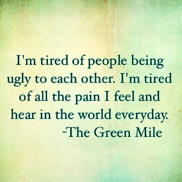 The Green Mile quote