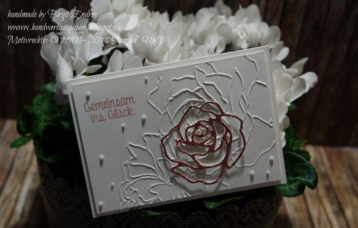 HandWerk aus Papier: Die nächste Rose