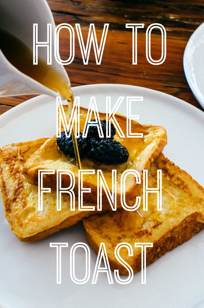 With this easy step-by-step guide on how to make French toast, you'll never be stuck for a fancy breakfast or brunch recipe ever again! | www.pinkrecipebox.com