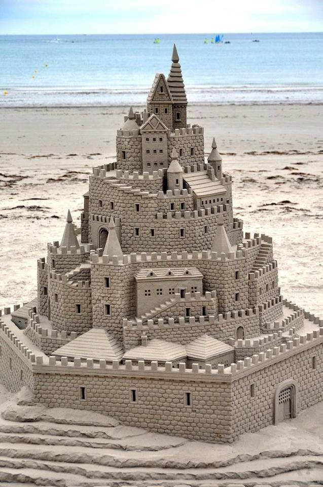 I plan on becoming a master sand-castle builder......just sayin:)