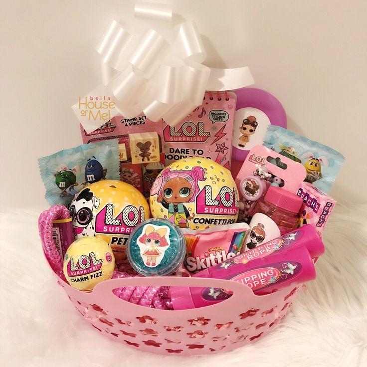 28 best easter gifts for children images on pinterest pre filled doll custom easter basket lolsurprise easter easterbaskets girl negle Gallery