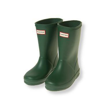 Baby Boy Green Hunter™ First Classic Rain Boot at JanieandJack