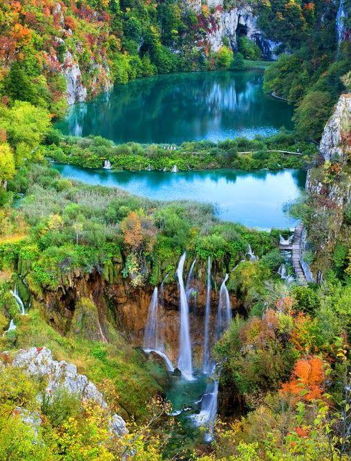 Plitvice Lakes National Park Croatia Beauty Pinterest Lakes Parks And Plitvice Lakes