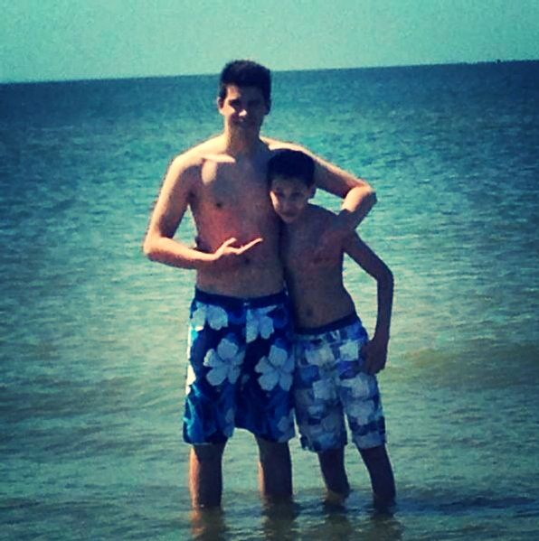 My brother and I