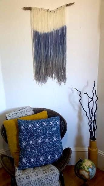 Hey, I found this really awesome Etsy listing at https://www.etsy.com/ca/listing/532158746/handmade-tapestry-fibre-art-dip-dye-wall
