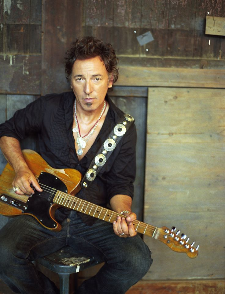 Bruce Springsteen of Freehold, New Jersey