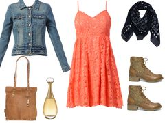 pink lace dress by leshoppingdenath